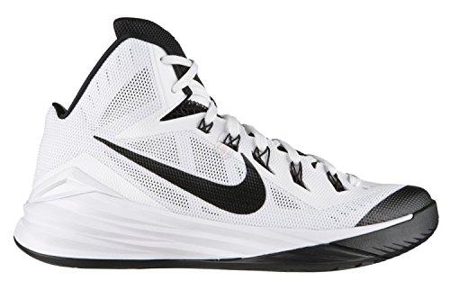 Scarpe Da Basket Uomo Nike Hyperdunk 2014 - Tutte Le Taglie - Bianco / Nero - 100