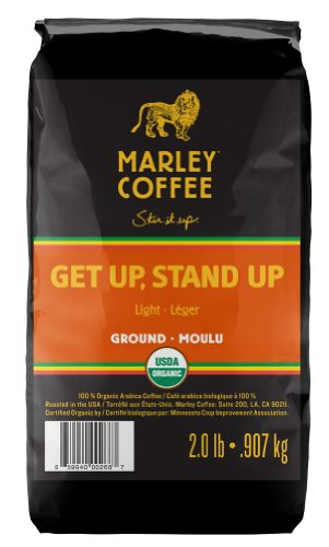 Marley Coffee, Organic Rationale Coffee, Getup, Stand Up, 2 Pound