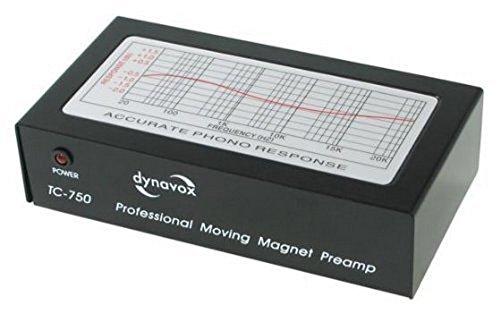 Dynavox TC-750 Preamplificatore per sistemi MM, colore: Nero
