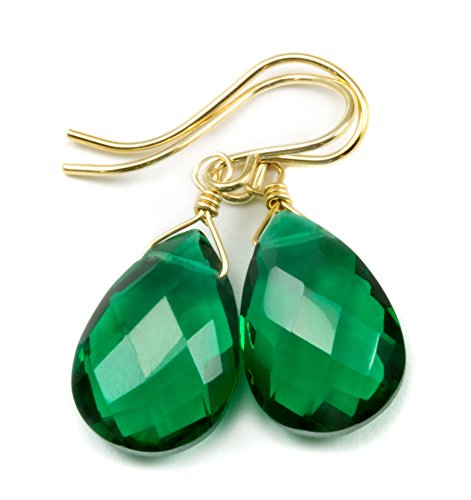14k Gold Filled Simulated Gree