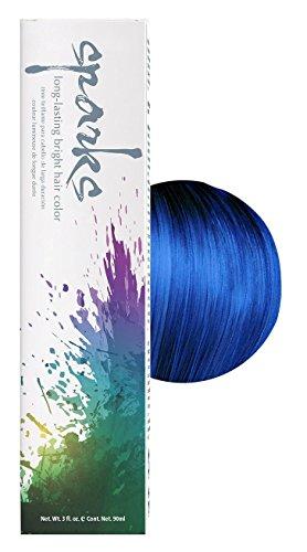 Electric Blue Sparkle - Sparks Bright Haircolor Electric Blue 3oz (2 Pack)