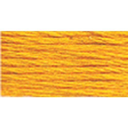 DMC 116 8-972 Pearl Cotton Thread Balls, Deep Canary, Size 8 ()