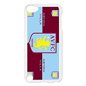 The Lions,Aston Villa Football Club FC Personalized IPod Touch 5/5G/5th Generation Hard Plastic Shell Case Cover White&Black(HD image)
