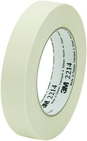 BOX BT9352214 3M 2214 Masking Tape 1 x6 0 yd. Natural (Pack of 36) [並行輸入品]