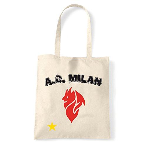 Sac evil Art Pour shirt Porter T À Natural Femme Milan bag L'épaule Hpwxq6wX