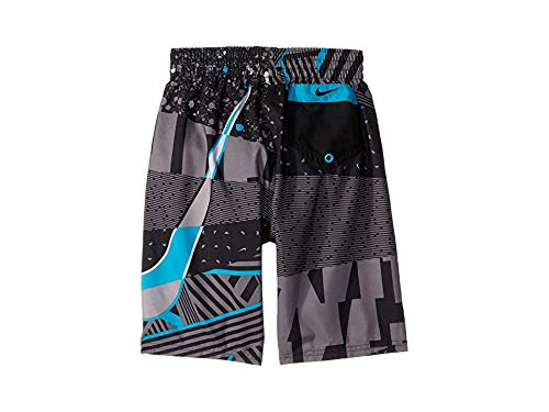 Nike Kids Boy's 8'' Mash Up Breaker Volley Shorts (Big Kids) Black X-Small
