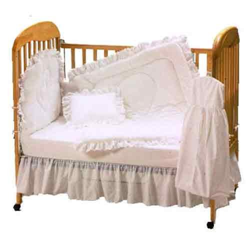 Baby Doll Bedding Carnation Eyelet Mini Crib/ Port-a-Crib Se