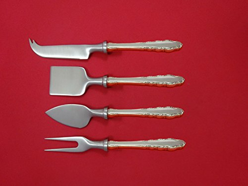 Provincial Cheese Server (English Provincial by Reed & Barton Sterling Cheese Serving Set 4pc HHWS Custom)