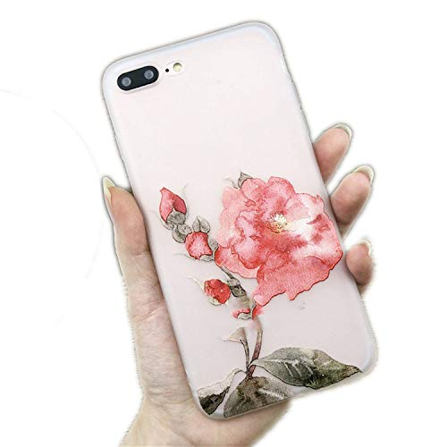 Lotus Flower Case Compatible for iPhone 8 Plus XS Max, used for sale  Delivered anywhere in USA