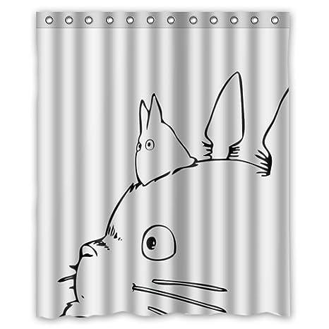 My Neighbor Totoro Studio Ghibli Shower Curtain 60 X 72 Amazonca Sports Outdoors