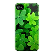 Premium Green Clover World Covers Skin For Iphone 6