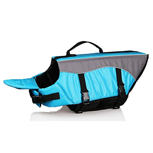 Pet Preserver Dog Aquatic - Dog Life Jacket, Pet Life Vest with Extra Padding Chin Float, Reflective Straps, Support Handle, Adjustable Buckles, Preserver Aquatic Safety Coat, for Small, Medium and Large Dogs, High Buoyancy