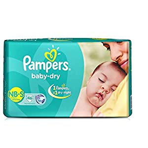 Pampers Taped Diapers, Small (SM),...
