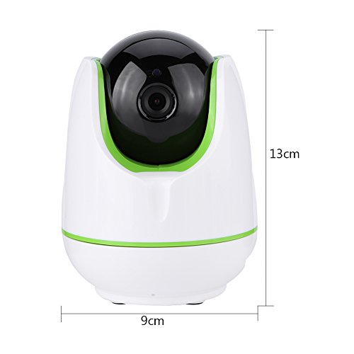 Video Baby Monitor,Fosa 720P HD WiFi Wireless Home Remote Security Camera Night Vision IR-Cut P/T Webcam(White) by fosa (Image #6)