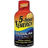 Regular Strength 5-hour ENERGY Shots – Orange Flavor – 24 Count