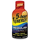 Regular Strength 5-hour ENERGY Shots – Orange Flavor – 24 Count