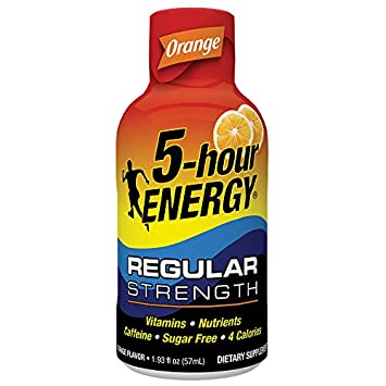 Regular Strength 5-hour ENERGY Shots Orange Flavor 24 Count