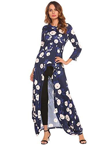 high low hem maxi dress - 1