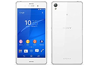 "SONY XPERIA Z3 D6603 5.2"" White 16GB IP65/IP68 FactoryUnlocked LTE 4G 3G 2G GSM Cell Phone - International Version No Warranty"