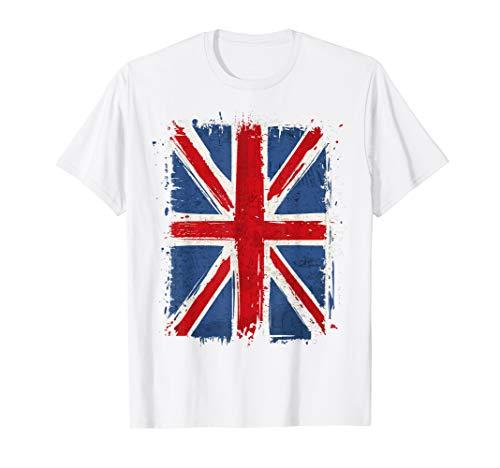 (United Kingdom Great Britain British Flag Men Women TShirt T-Shirt )