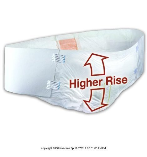 Tranquility HI-Rise Bariatric Disposable Brief [BARIATRIC HIGHRISE BRF 64-96IN] by PRINCIPLE BUSINESS ENT