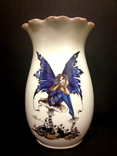 - Tuscany Amy Brown Ceramic Vase Limited, 83672 by ACK