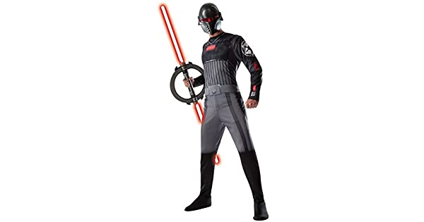 Amazon.com: Star Wars Rebels Inquisitor de adultos disfraz ...