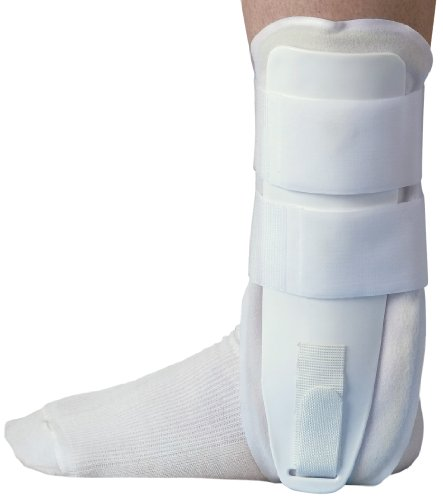Medline Stirrup Ankle Splint, White ()