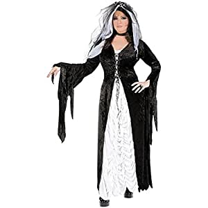 Bride of Darkness Adult Costume - Plus Size 1X/2X