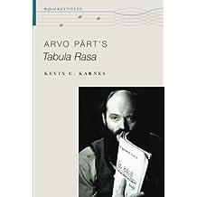 Arvo Pärt's Tabula Rasa