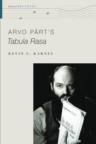 Arvo Pärt's Tabula Rasa (Oxford Keynotes) PDF