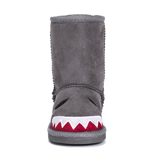 Pictures of MUK LUKS Boys Kid's Finn Shark Grey 9 M US Toddler 6