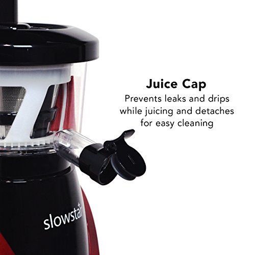 Slowstar Masticating Juicer : Tribest Slowstar vertical Slow Juicer and Mincer SW-2000, Cold - Import It All