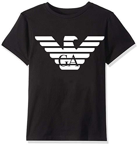 yus-Emporio-Armanis-ert Replica Unisex Toddler Kids Boys/Girls T-Shirt Black