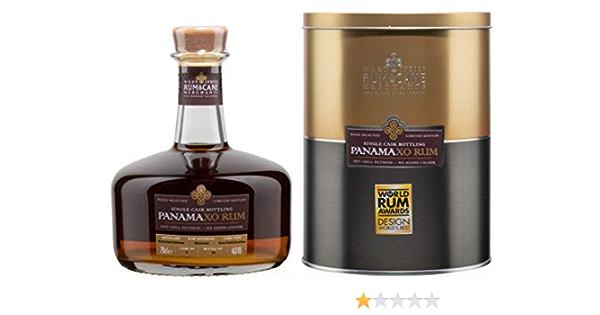 Panama XO Rum - West Indies Rum & Cane Merchants. Single Cask bottling, 70cl. 46% ABV.