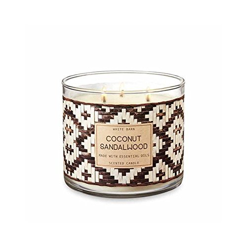 White Barn 3 Wick Candle Coconut Sandalwood by White Barn