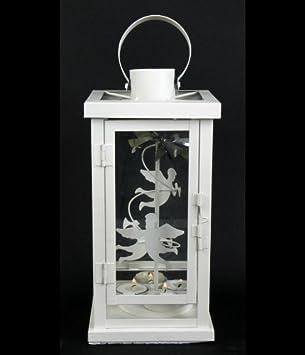 Laterne Karussell Aus Metall Für 4 Teelichter H 30 Cm Amazonde