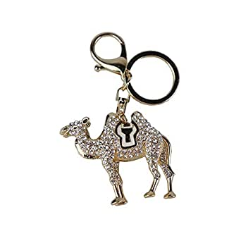 Alloy camel key chain pendant-YSK02