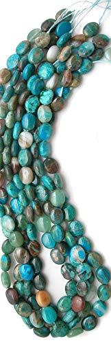 (Peruvian Chrysopal (Blue Opal & Chrysocolla) 8x10mm Oval Beads, 16in Str)