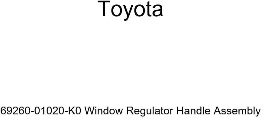 Genuine Toyota 69260-01020-K0 Window Regulator Handle Assembly
