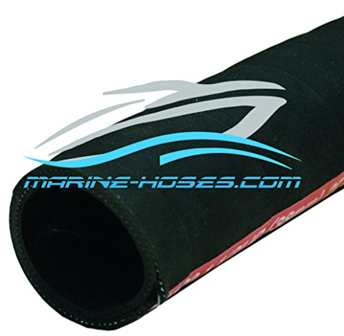 1 1/2 inch A2 Marine Fuel Fill Hose Fuel Line 1-1/2'' A2 Marine fuel hose Low Permeation wire reinforced sold by the foot by Unaflex