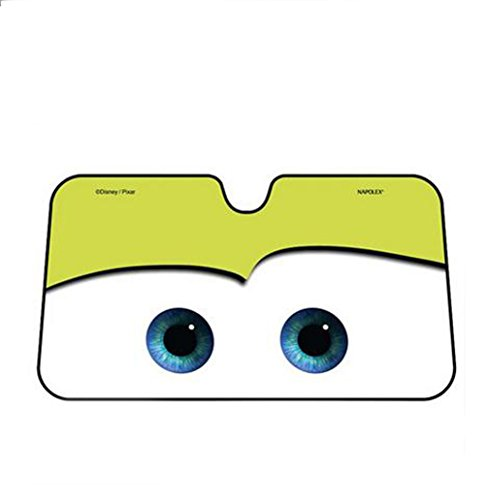 Cartoon Big Eyes Design Windshield Front Car Sun Shade ()