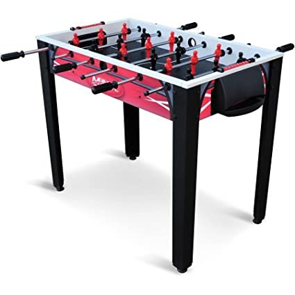 42\u0026quot; Steel Rod Foosball Game Table with Adjustable Legs and Slide Scoring Easy Set  sc 1 st  Amazon.com & Amazon.com : 42\