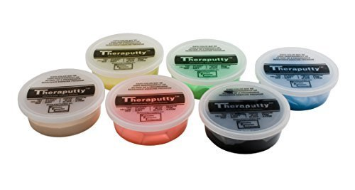Theraputty Exercise Putty Set, 6 Ounce, 4 count by Theraputty