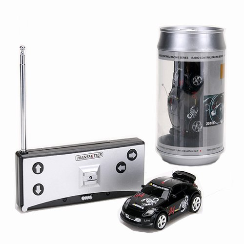 Coke Can Mini RC Radio Remote Control Micro Racing Car Hobby Vehicle Toy Gift