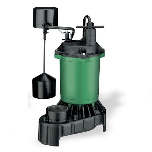 - Hydromatic MS33V Submersible Sump Pump 0.33 HP 115V 10' Cord Automatic