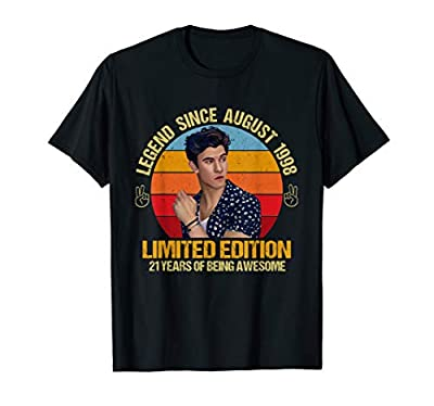 Mendes Gift Shawn T-Shirt Birthday Gift For Men Women Kids T-Shirt