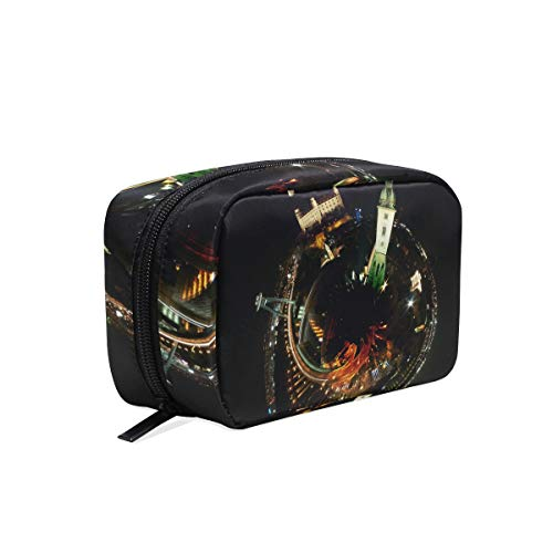 Cosmetic Makeup Bag Pouch Night Drink Darkness Christmas Garnish Ball -