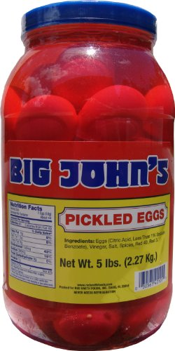(Big John's Pickled Eggs - Gallon)