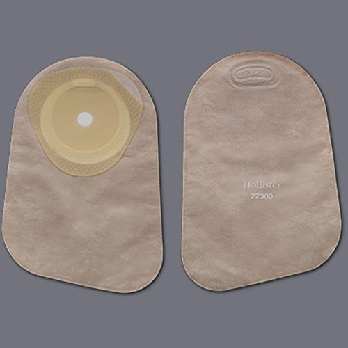 Colostomy Pouch PremierTM One-Piece System 9 Inch Length 5/8 to 2-1/8 Inch Stoma Closed End Trim To Fit - 30/BX (MFN # -